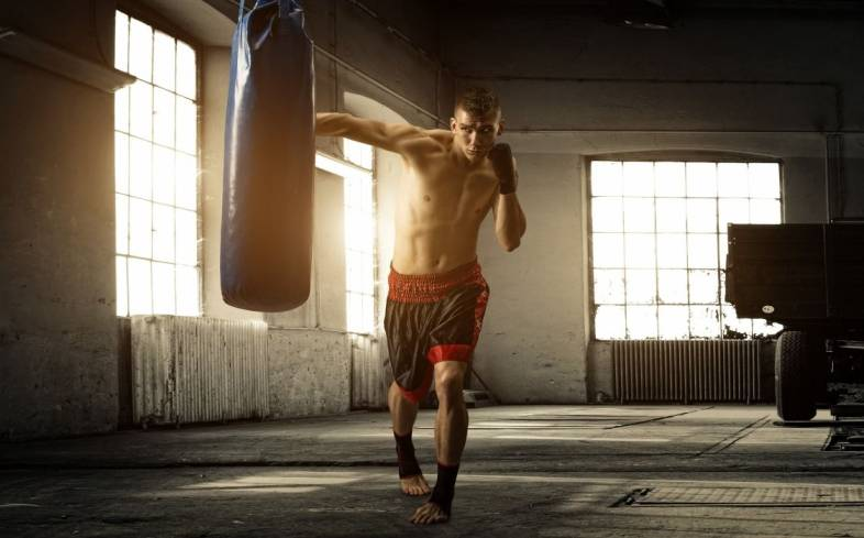 boxing is a great way to burn calories, increase shoulder, back, and core endurance