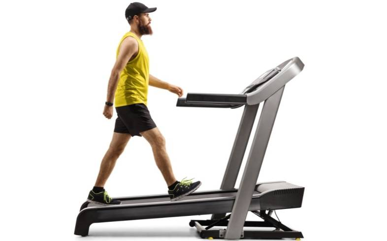 inclined walking can improve running form and muscle endurance
