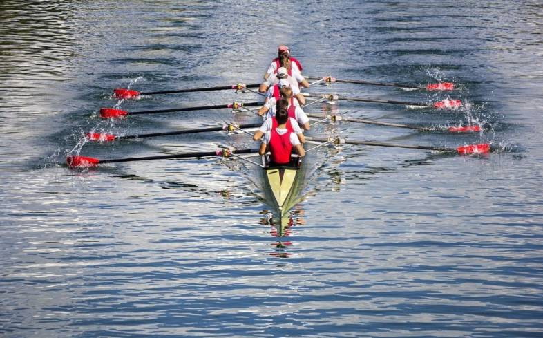 rowing is a low impact, high-intensity form of cardio that can increase leg endurance and pulling power
